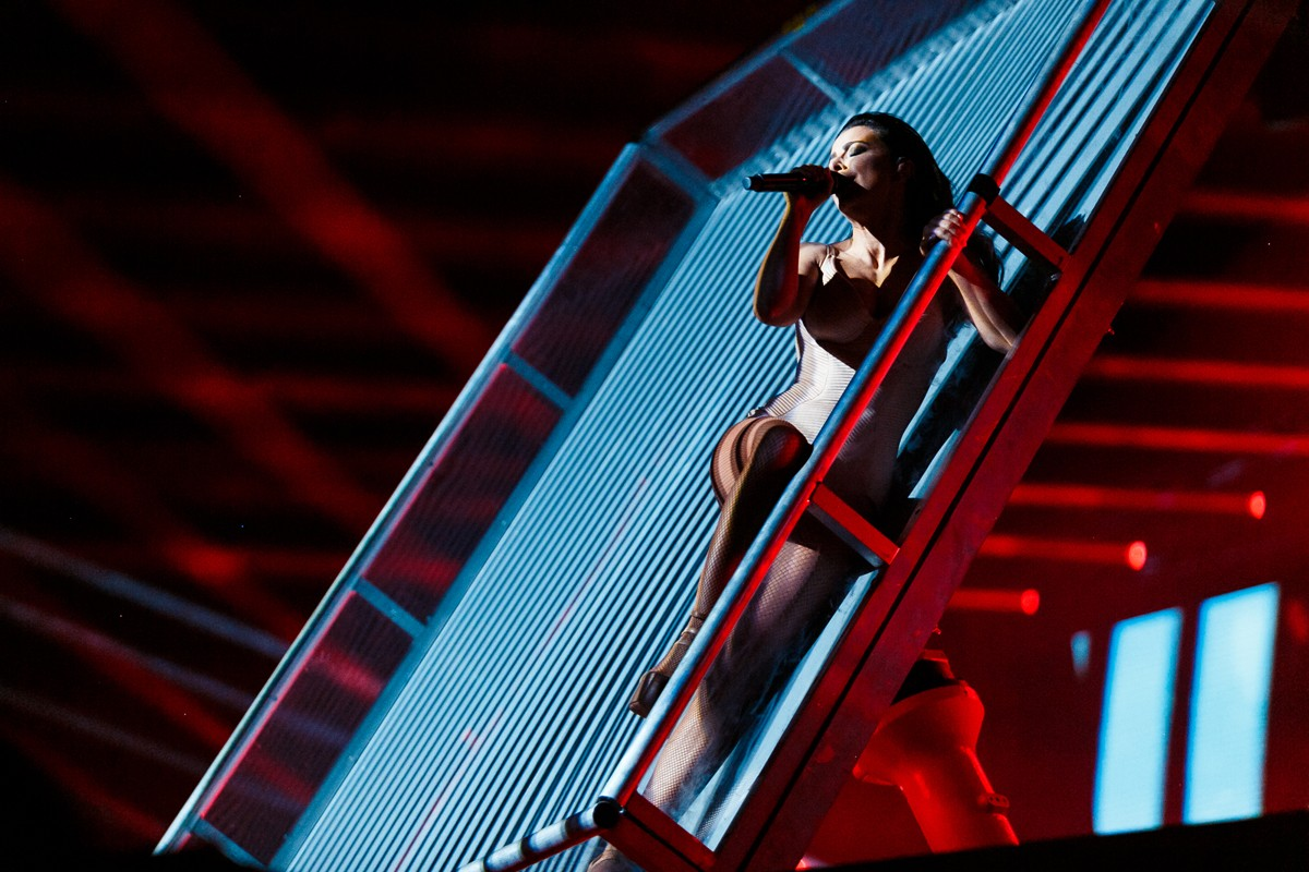 Lyubov Uspenskaya scared the fans with her face 11/20/2017 93