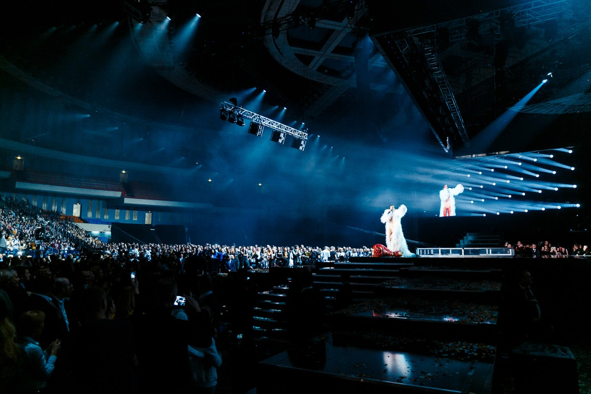 Lyubov Uspenskaya scared the fans with her face 11/20/2017 47
