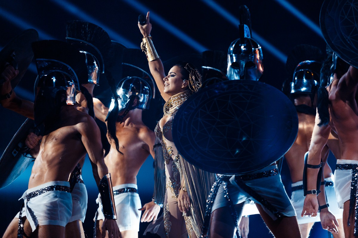 Lyubov Uspenskaya scared the fans with her face 11/20/2017 36